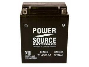 Power Source Batteries WPX12A-4A (UB12A-A Replacement) Sealed Battery 01-333 - 1 Year Manufacturer Warranty!