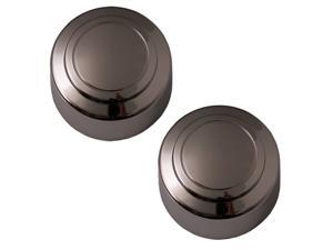 Set of 2 Ford 250 350 Rear Center Caps Hub Cover Fits 16x7 Inch Wheel - Aftermarket: IWCC3140/R