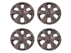 Set of 4 Chrome 16 Inch Aftermarket Replacement Hubcaps with Metal Clip Retention System - Aftermarket Part: IWC429/16C