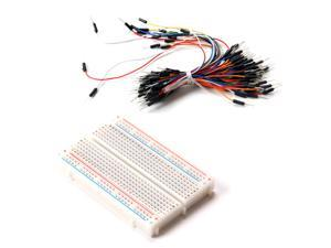 Prototype board Electronic deck + 65pcs Breadboard tie line Wire cable kit for Arduino DIY
