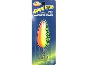 Apex Fishing SP58-3 Game Fish Spoon 5/8 OZ Fire Tiger