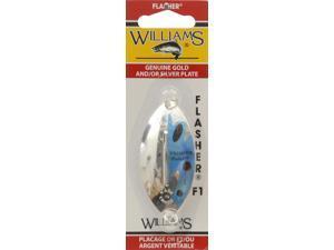 Williams F1EB Fishing Spoon Williams F1 Flasher Sil/ Blue