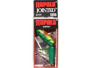 Rapala J07FT Jointed Size 07 Fire Tiger Fishing Hard Bait