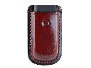 Don Hume D739135 Brown Leather Single Stack Magazines Belt Pouch Fits Colt 1911