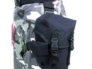 """Blackhawk 56GM00BK Black Gas Mask Pouch/Case 6.5"""" x 4"""" x 10"""""""