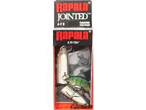 Rapala J07S Jointed Size 07 Silver Fishing Hard Bait