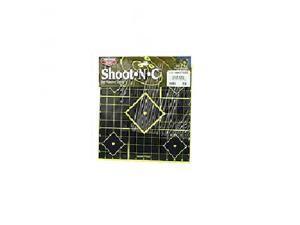 "Birchwood Casey 34205 TI-5 Shoot-N-C Target 12""x12"" Sight-In 5 Pack BC34205"