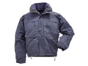 5.11 Tactical 48017724S 48017 Dark Navy Men's 5-in-1 Jacket SZ SM Regular