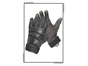 Blackhawk 8114MDBK HellStorm SOLAG Gloves With Kevlar Black Full Finger Medium