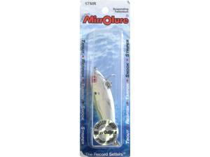 "MirrOlure 17MRCFPR Mirrodine2"" 3/ 8 OZ chrt/Pearl/Silver Bass Fishing Hard Bait"