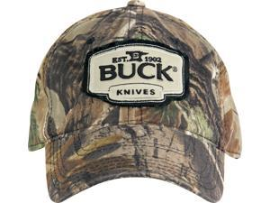 Buck BU89068 Baseball Cap Breathable Realtree Ap Camo Design W/ Buck Logo Patch