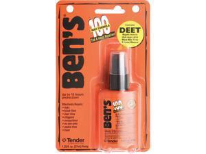 AMK Ben's 100 Max Pump Spray Repellent 1.25Oz Carded
