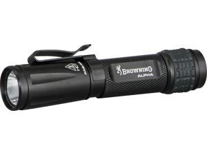 """Browning BR1231 Flashlight Alpha LED 4"""" Overall Luxeon Rebel LED Produces 90"""