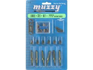Muzzy 225 Broadheads & Points 100 Grain 3 Blade 6 Pack 1 3/16 inch Diameter