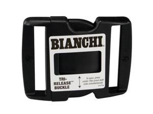 """Bianchi 90063 Replacement Tri-Release Polymer Buckle For 2.00"""" Belts"""