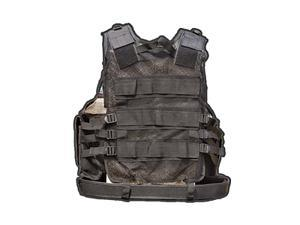 "Galati Gear Vest Up to 54"" Black Tactical Vest GLV547B-M"