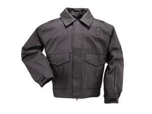 5.11 Tactical 480270194XLL 48027 Black Men's 4-in-1 Patrol Jacket SZ 4XL Long
