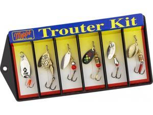 Mepps Fishing Lure K1 Trouter 6 Lure Trout Spinner Kit Fishing Spinner