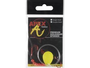 Apex SC3D-31-1 Hologram Spinner Rigs Chart Bass Fishing Spinner
