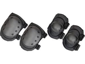 Humvee HMV-KEP-B Knee/Elbow Pads 600D Polyester W/ Pvc Coating Composite Anti