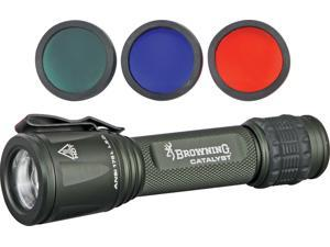 """Browning BR1235 Flashlight Catalyst LED 5"""" Overall Low High & Strobe Settings"""
