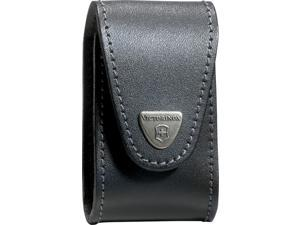 Victorinox VNVN33240 Swisschamp Xltpouch Black Leather Belt Pouch Made To Fit Vn