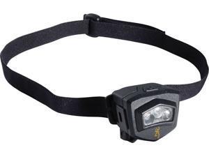 Browning BR2121 Headlamp Microblast High Output L E D Headlamp Black Polymer