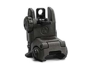 Magpul Industries MBUS Back Up Sight, Generation II, Fits Picatinny, OD Green , Rear, Flip Up MAG248-OD