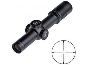 Leupold 115045 1-6X20 Front Focal TMR Matte Black Mark 6 Rifle Scope 34MM