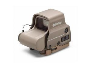 EOTech Tactical, Holographic, Night Vision Compatible Sight, 68MOA Ring with 2 1MOA Dots, Tan Finish, Side Buttons, incl