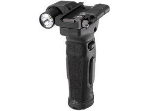 Crimson Trace Corporation Modular Vertical Foregrip, Fits AR Rifles, Green Laser, Black, Includes Flashlight MVF-515 G