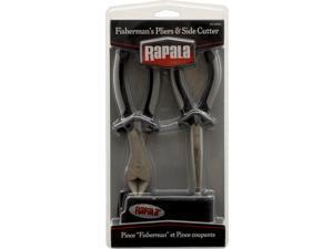 """Rapala RTC-6SPSC 7"""" Side Cutter/ 6 1/2"""" Fisherman's Pliers Combo PK W/ Sheath"""