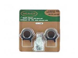 """Weaver 49040 Top Mount Ring 1"""" Low Matte WV49040"""