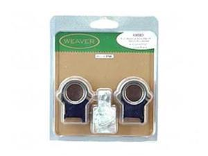 """Weaver 49080 Top Mount Ring 1"""" Extra High Gloss WV49080"""