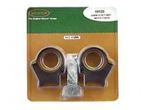 Weaver 49120 Top Mount Ring 30mm High Matte WV49120
