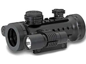 BSA STSRD30LL Stealth Tactical Iluminated Sight with Laser and Light