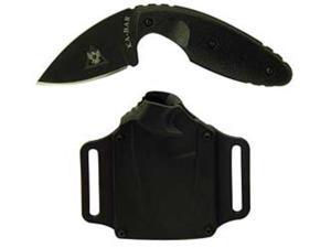 "KABAR 1480 TDI Law Enforcement Fixed 2"" Blade Plain Drop Point w/ Knife Sheath"