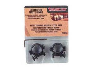"""Tasco Ring 1"""" Medium Centerfire Rings Matte TA791DSC 046162090282"""