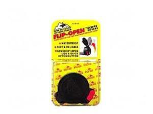 "Butler Creek Flip-Open Scope Cover, Fits 1.457"" Eye, Size 7, Black MO20070"