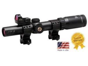 Burris Xtreme Tactical 1-4x24 Illuminated XTR Ballistic Riflescope, Matte Black