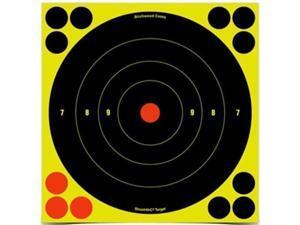 "Birchwood Casey Shoot-N-C Target, Round Bullseye, 8"", 30 Targets 34825-30"