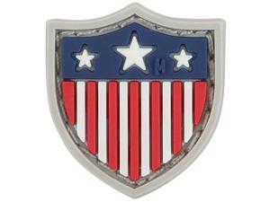 "Maxpedition PVC PATCH:USSDC USA Shield Micropatch 0.8""x0.9""Full Color"
