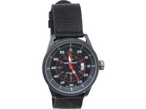 Smith & Wesson SWWMX28 Field Watch II Black Stainless/Red Accents 1.5""