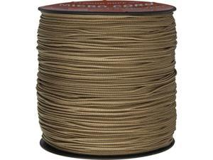 Parachute Cord RG1137 Micro Cord Tan 1.18mm x 1,000 ft. Braided Nylon