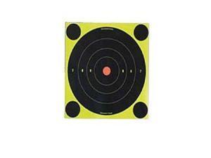 """Birchwood Casey 34550-60 Shoot-N-C Target 5.5"""" Round Bullseye 60 Pack"""