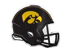 NCAA HEU025 Light Weight Aluminum Helmet Emblem - Iowa