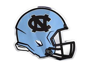 NCAA HEU045 Light Weight Aluminum Helmet Emblem - North Carolina
