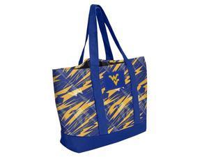 "NCAA BGNCTOTWV West Virginia Shatter Tote Polyester Bag - 17"" x 13.5"""