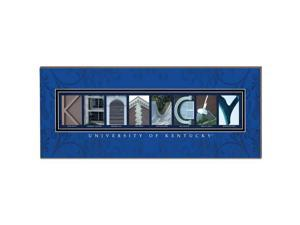 NCAA 1019101285 Kentucky Campus Spell College Name Letter Art
