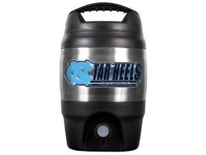 NCAA TJ2313-14 North Carolina Heavy-Duty Plastic - Stainless Steel Tailgate Jug